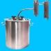 Дистиллятор фланцевый на 50 литров с металлическим-разборным сухопарником ЛЮКС УЛУЧШЕННЫЙ