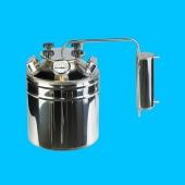 Дистиллятор фланцевый с термометром бытовой