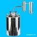 Дистиллятор фланцевый на 23 литров с металлическим-разборным сухопарником