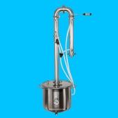 Самогонный аппарат на 2-х дюймовых кламповых соединениях  Робокоп на 20 литров