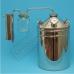 """Бытовой дистиллятор """"Умелец"""" на 35 литров с отстойником-банкой"""