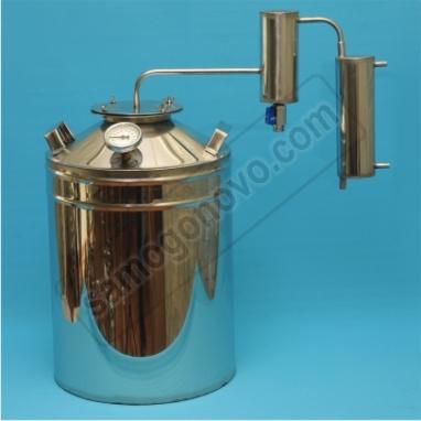 """Бытовой дистиллятор """"Умелец"""" на 35 литров фланцевый c сухопарником"""