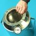 """Бытовой дистиллятор  """"Умелец"""" на 13 литров фланцевый с сухопарником-банкой для индукционных плит"""