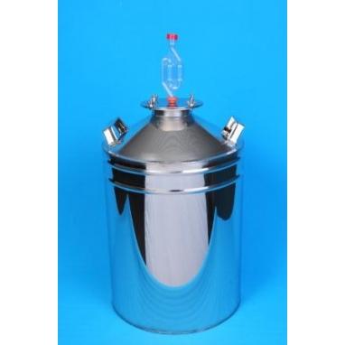 Ёмкость для брожения фланцевая с гидрозатвором 20л